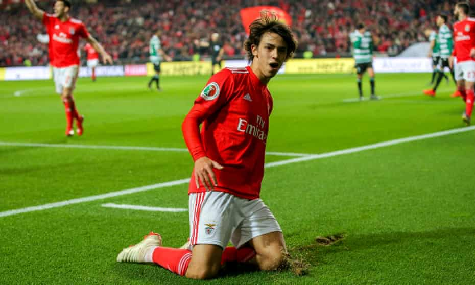 João Félix scored 20 goals and provided 11 assists for Benfica last season.