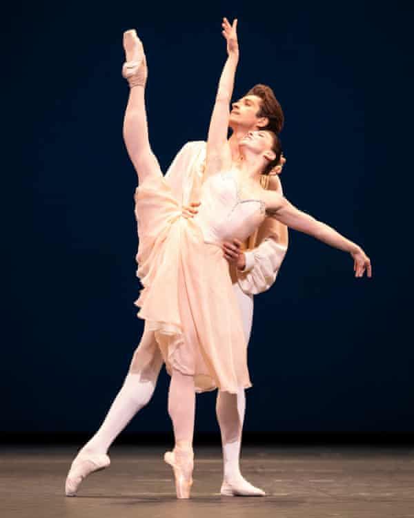 Natalia Osipova and Reece Clarke in Tchaikovsky Pas de Deux.