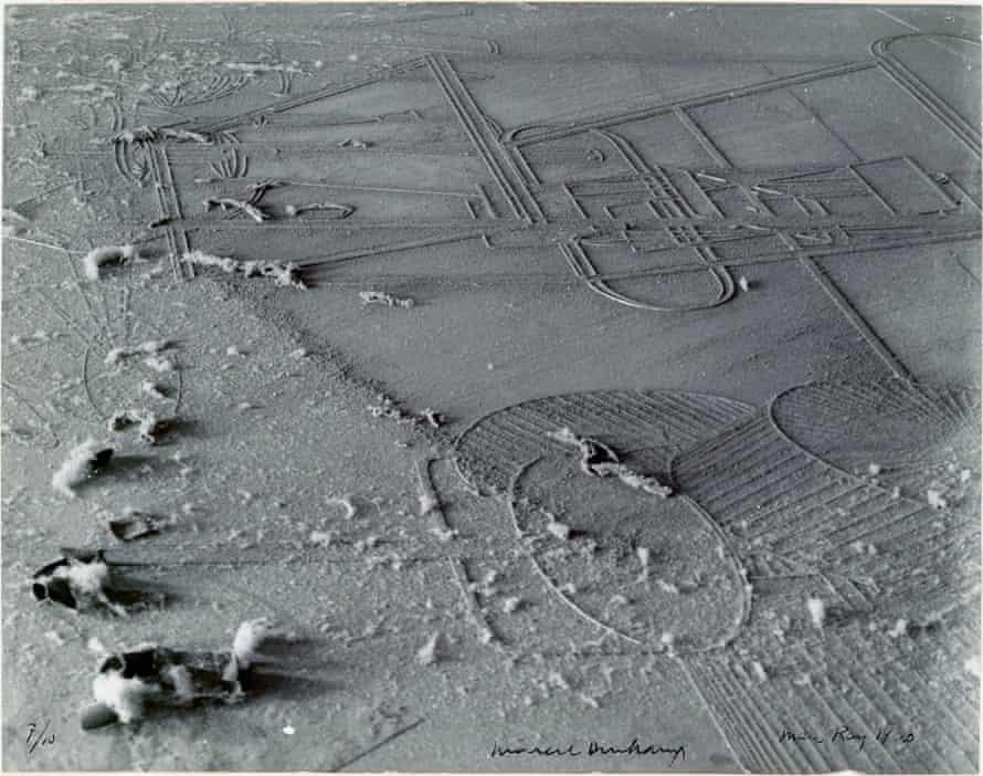 Disruptive moment … Dust Breeding (Élevage de poussière) 1920, by Man Ray and Marcel Duchamp.