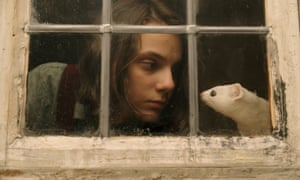 Dafne Keen as Lyra Belacqua in the BBC series of His Dark Materials, 2019.