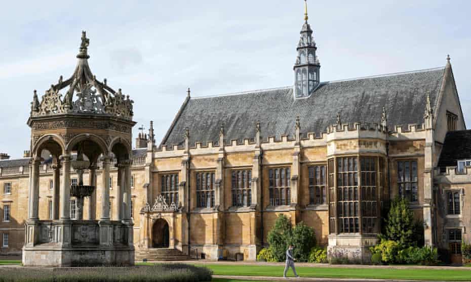 Trinity College, Cambridge.