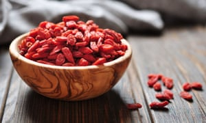 Goji berries: no evidence that they are healthier than any other fruit.