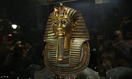 The 3,300-year-old gold mask of Tutankhamun