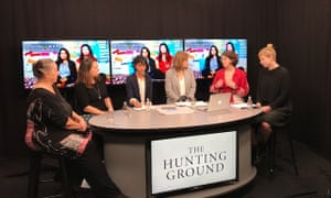 Karen Willis, Allison Henry, Mariam Mohammad, Gabrielle Jackson, Katie Thorburn and Anna Hush discuss The Hunting Ground documentary and sexual assault at Australian universities.