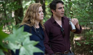 If you go down to the woods today … Amy Adams and Chris Messina.