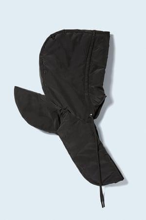 Padded hood, 5.99, Zara.