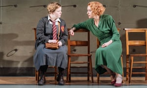 Nicola Coughlan and Lia Williams in The Prime of Miss Jean Brodie at the Donmar Warehouse.