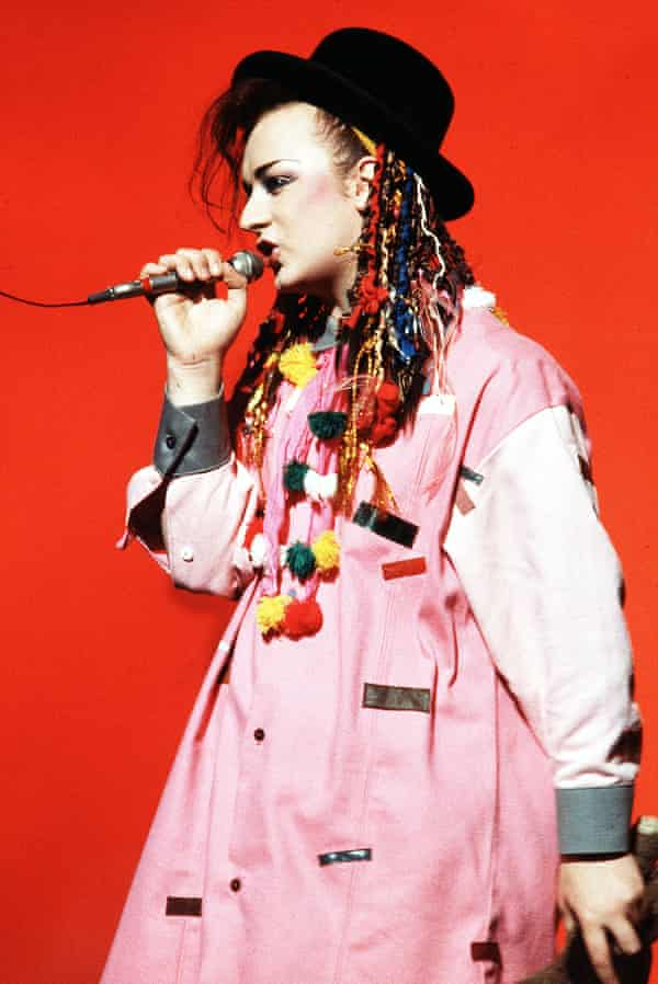 'I was so enamoured of him': Boy George performs with Culture Club, 1983.