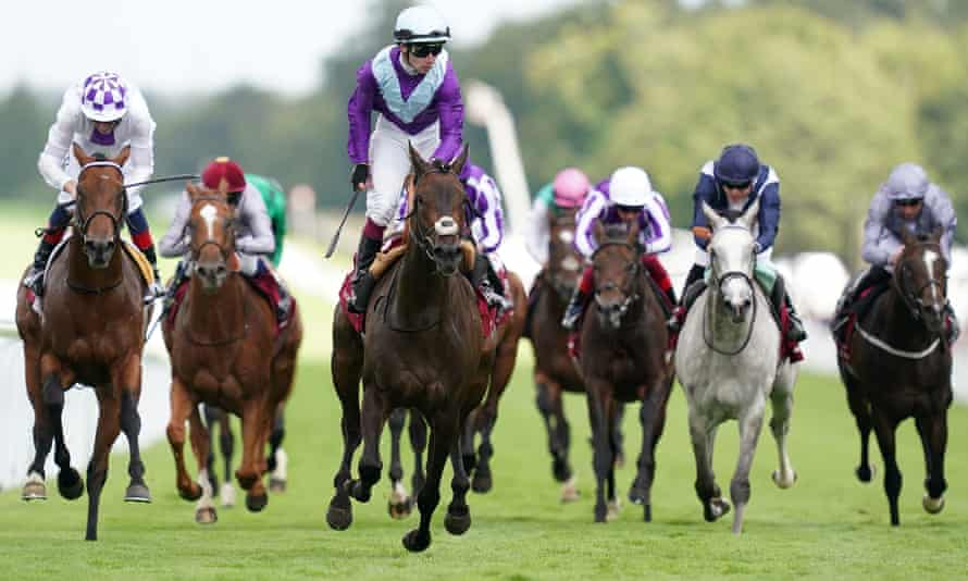 Alcohol Free and Oisin Murphy win the Sussex Stakes at Goodwood.