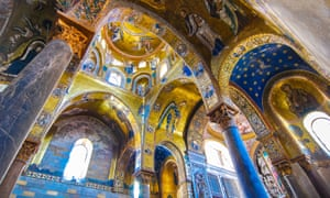 Palermo, Sicily, Italy. Palatine Chapel, (Cappella Palatina)