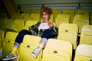 'I was really white-ifying my music' ... Raye.