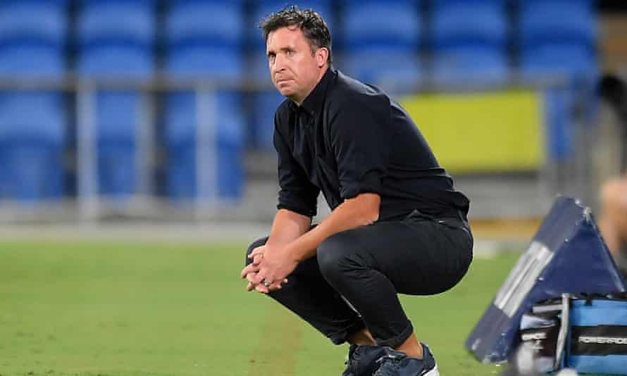 Brisbane Roar coach Robbie Fowler
