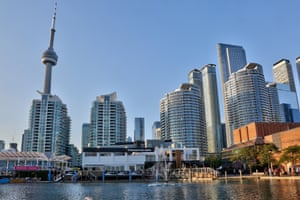 Toronto's waterfront is considered to be the largest area of undeveloped real estate in North America. Photograph: Creative Touch Imaging /NurPhoto via Getty Images