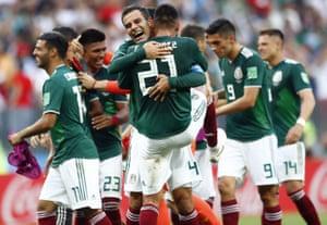 Delirium for Mexico.