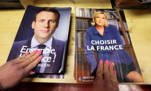 Civil servants in Nice prepare electoral documents for the upcoming second round of the French presidential election.