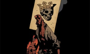 Hellboy in Hell: The Death Card by Mike Mignola.