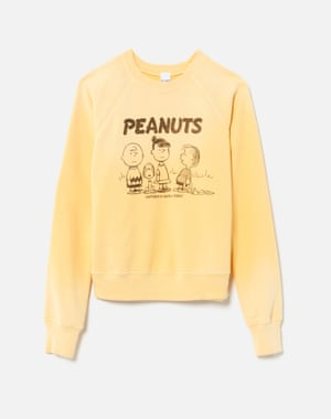 Go nutsRE/DONE teams up with heritage brand Peanuts, the comic strip created by Charles M Schulz, for a collaboration celebrating community and friendship. The collection of iconic tees, sweatshirts and sweaters, decorated with Peanuts archive art and quotes, features the well-loved Snoopy, Charlie Brown and the rest of the Peanuts gang. Prices start from £120, shopredone.com