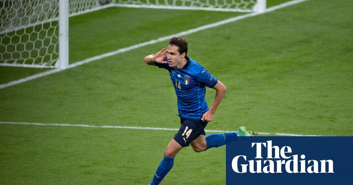 Italy's Federico Chiesa follows proudly in his father's footsteps