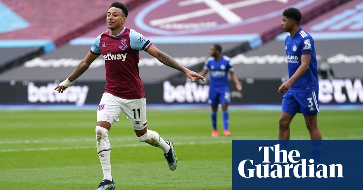 Jesse Lingard's double sinks Leicester and fuels West Ham's top-four dreams