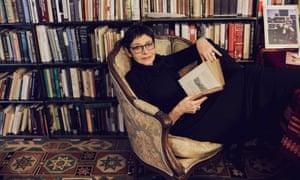 Joan Juliet Buck in her office in the basement of a library in Rhinecliff, N.Y., Feb. 10, 2017.