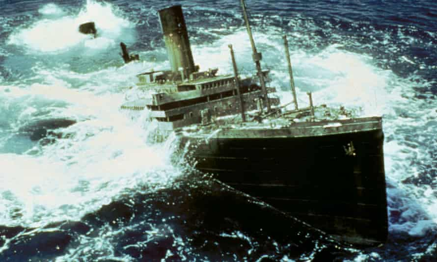 A still from Raise the Titanic, the 1980 film based on Clive Cussler's novel. The film failed to earn back its budget – the producer Lew Grade quipped: 'It would have been cheaper to lower the Atlantic.'
