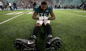 Vinny Curry takes in the Eagles' first Super Bowl victory