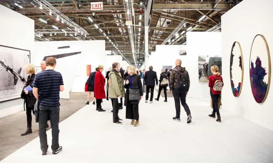 The Armory Show in 2017.
