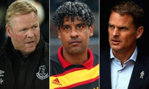 Ronald Koeman, Frank Rijkaard and Frank de Boer have often struggled as coaches outside the comfort zone of Ajax or Barcelona.