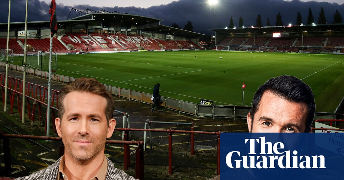 A wild few months: the inside story of Wrexhams Hollywood takeover