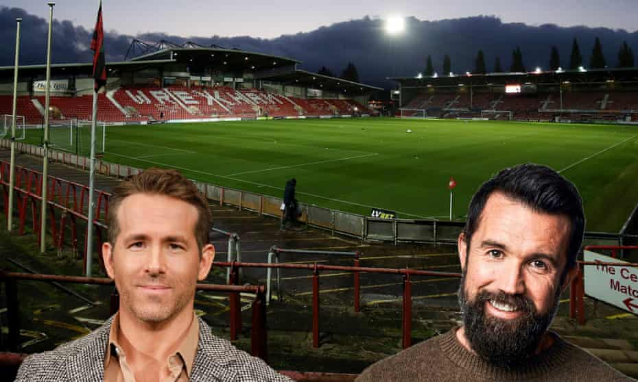Will Wrexham's new owners Ryan Reynolds (left) and Rob McElhenney bring brighter days to the club?