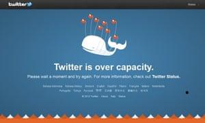 The Fail Whale.