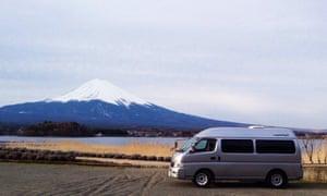 Campervan, Mt Fuji