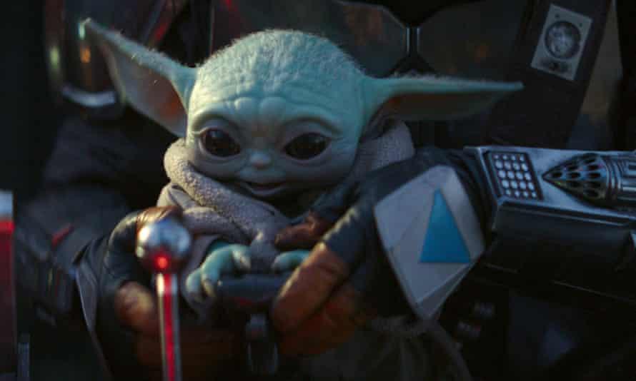The Child, AKA Baby Yoda, in The Mandalorian