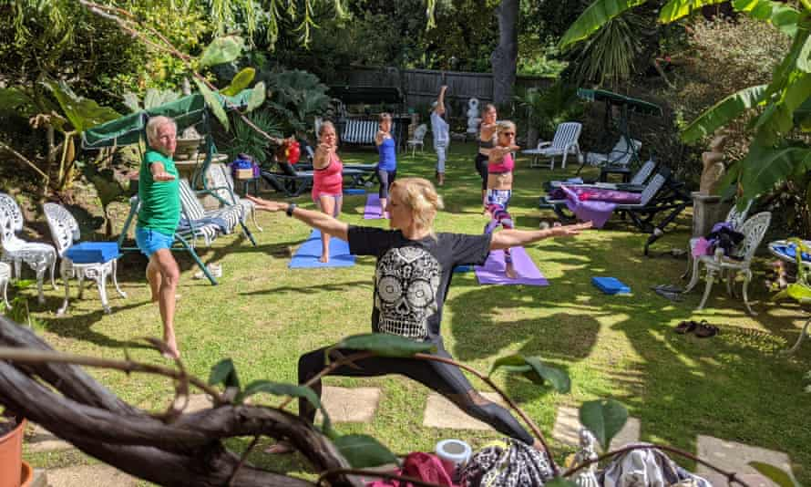 Radiant energy yoga features at the Grange