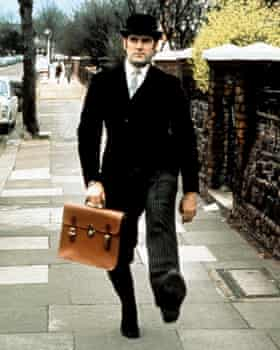 John Cleese in Monty Python's Flying Circus.