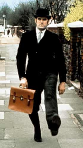 Yes, Minister … John Cleese doing a silly walk.