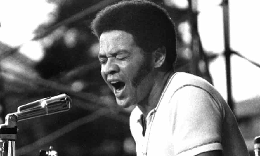 Bill Withers performing in the mid-1970s.