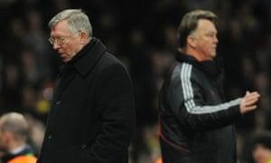Sir Alex Ferguson and Louis van Gaal