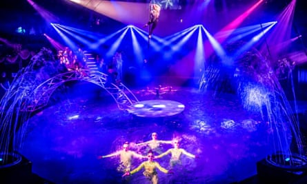 'It's a scary time to be a producer' ... the summer spectacular and water show at Hippodrome Circus.