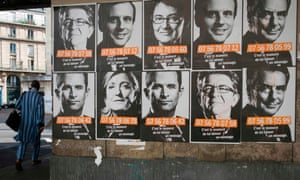 French presidential election candidates, Toulouse.
