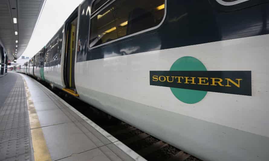 A Southern rail train.