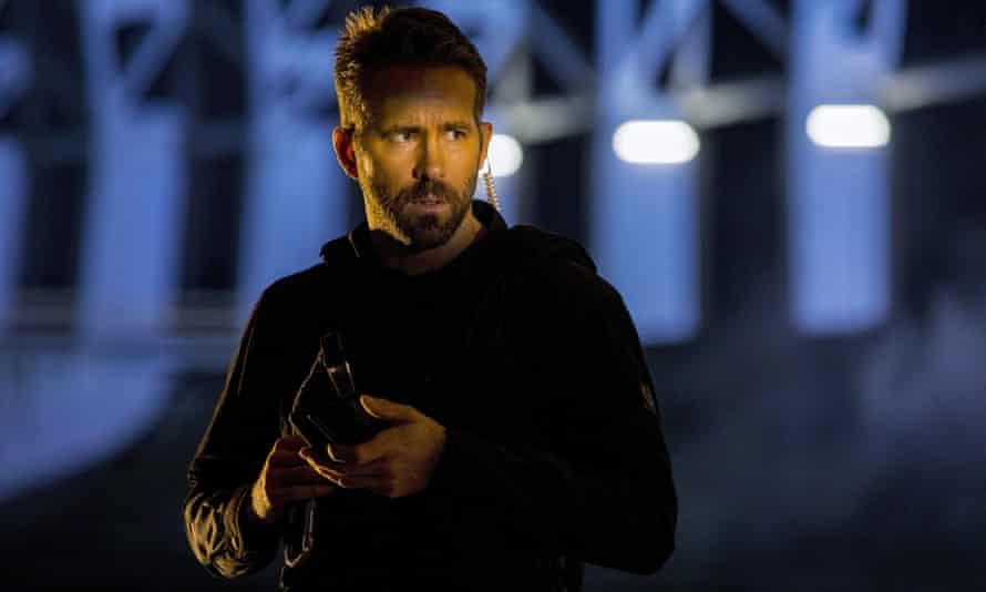 Guns and gags … Ryan Reynolds in 6 Underground.