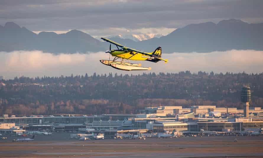 A de-Havilland Canada DHC-2 Beaver in the air