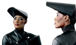 So, I decided to take up welding … Grace Jones can do anything.