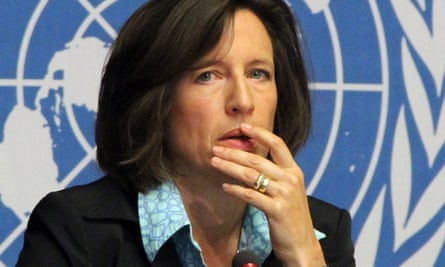 Melissa Fleming, who has just been appointed the UN under-secretary for global communications.
