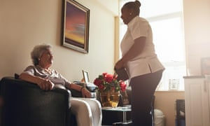 Allied Healthcare provides 9,300 elderly and vulnerable people with care at home.