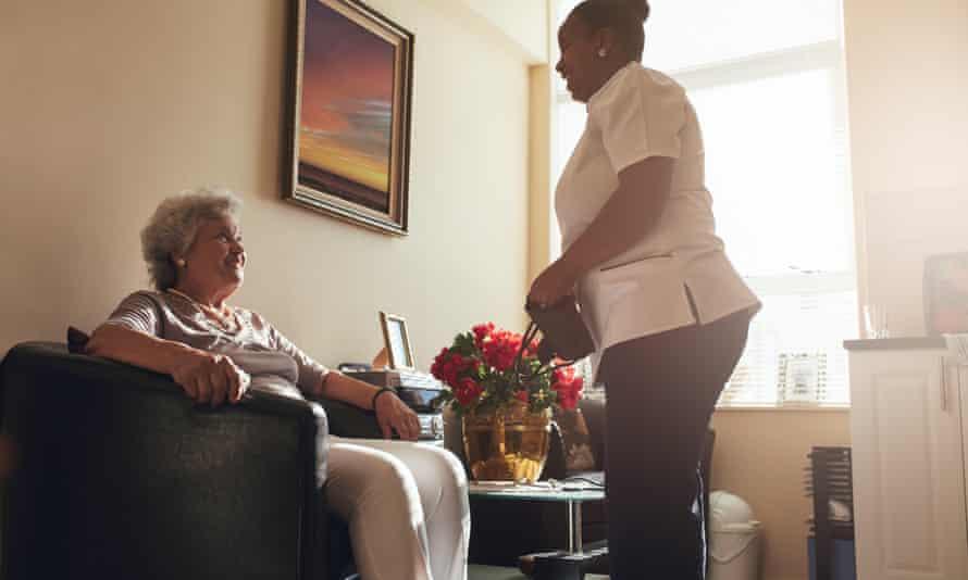 Social care stock image