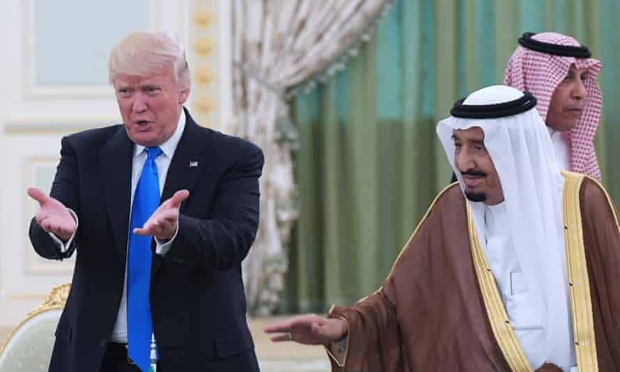 Donald Trump and King Salman