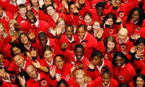City Year UK places positive role models in schools.