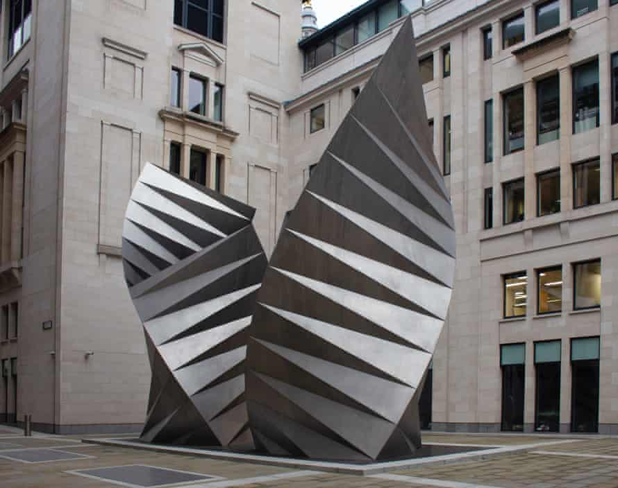 Divine expiration … Thomas Heatherwick's Paternoster Vents, also known as Angel's Wings.